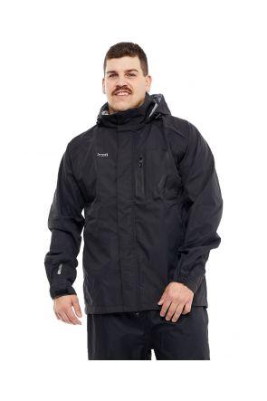 XTM Kakadu Mens Plus Size RAIN Jacket Black