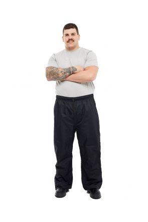 XTM Styx Rain Plus Size Pant Black Unisex Mens Sizes 2XL - 7XL